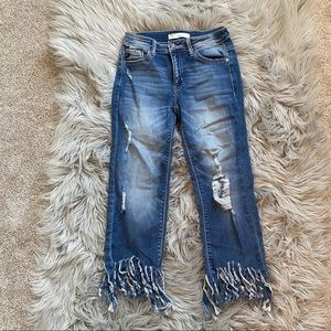 Medium wash jeans! Only worn once